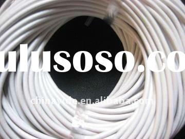 White round leather cord for jewelry