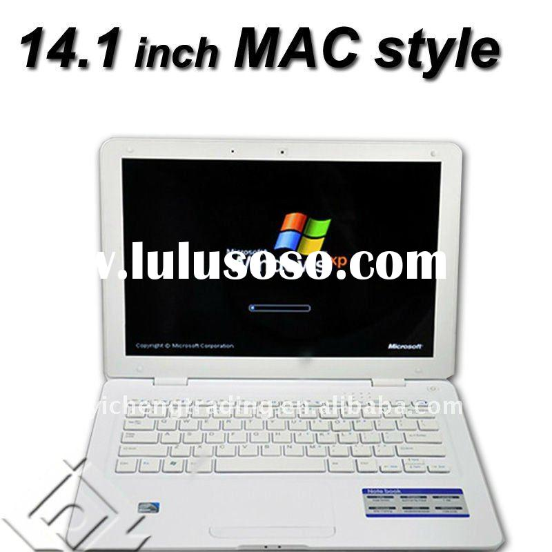 Wholesale brand new Cheap 14.1 inch Intel N455 mini laptop with WIFI Camera Bluetooth