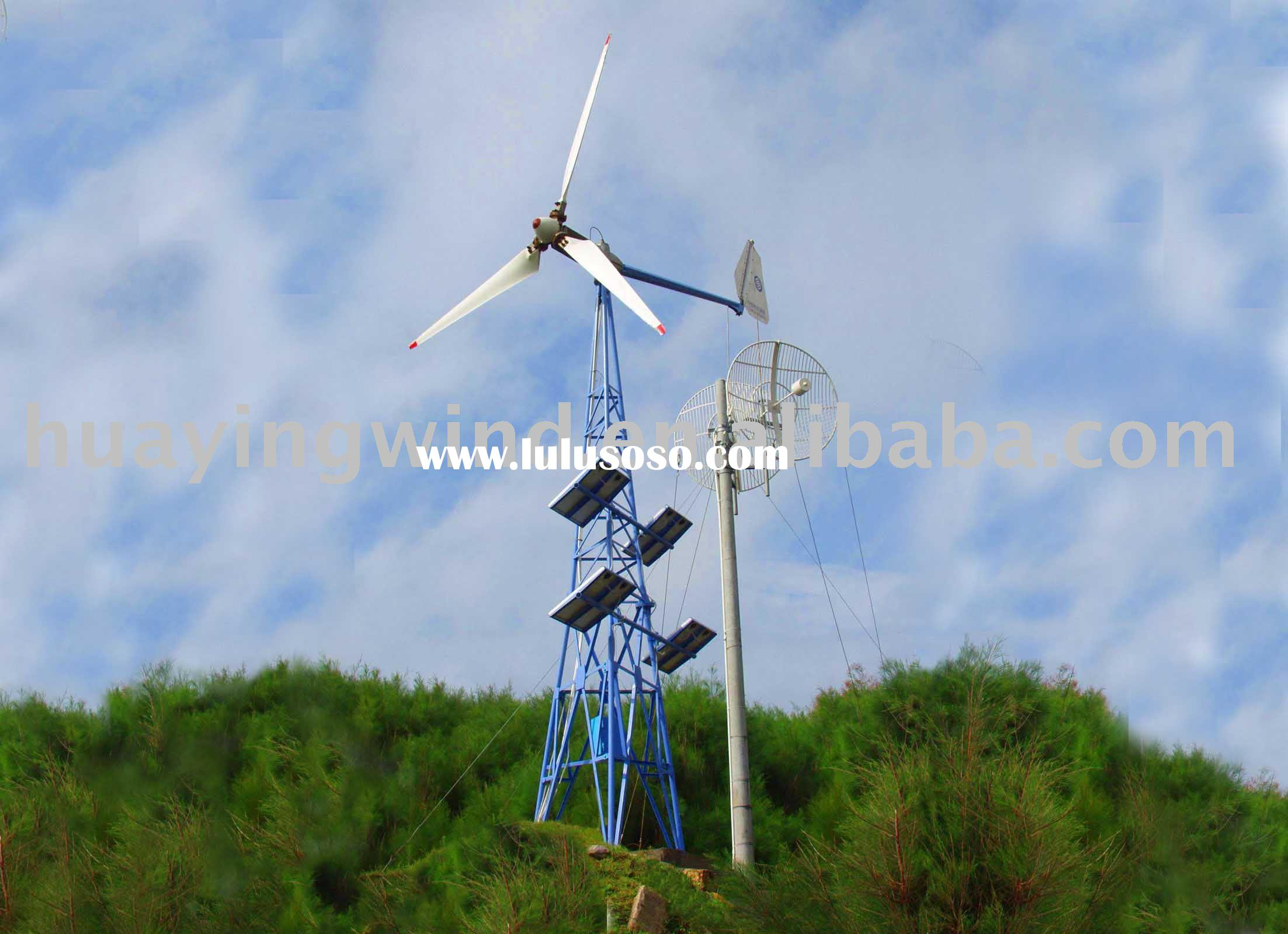 Wind/Solar Hybrid Power System