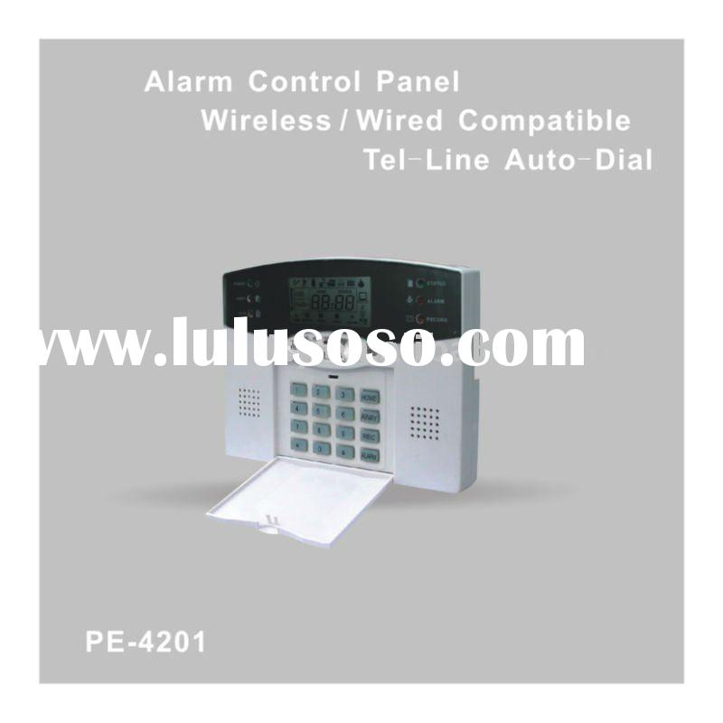 Wireless Alarm Control Panel / Tel-Line Auto-Dial
