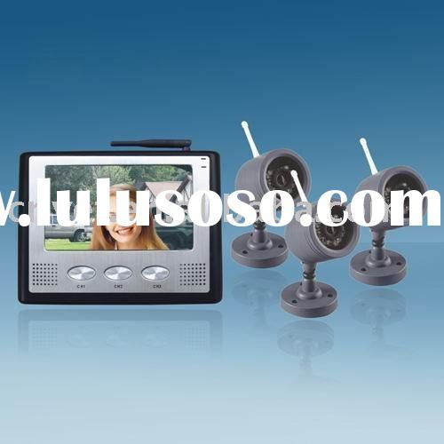 Wireless Home Security System with Camera RL-07TFT2005-3