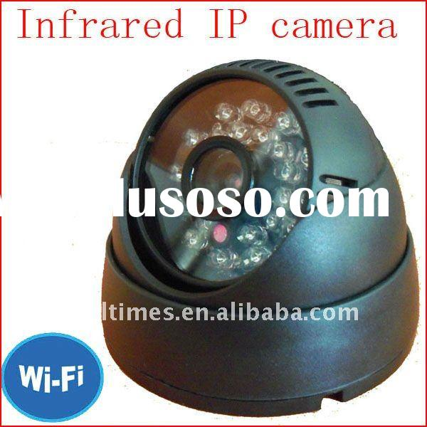 With 24pcs LED for 3-8 meters night vision distance web based security camera/best wireless security