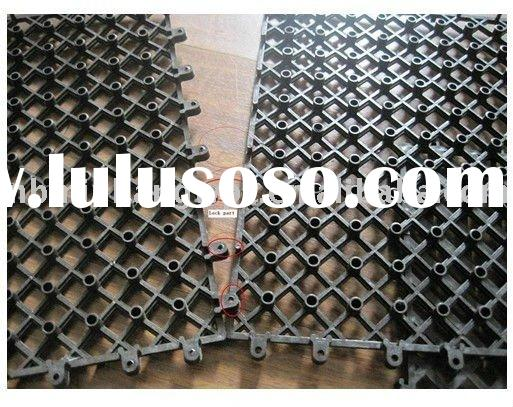 Wood Composite Deck Tiles Accessories/Natural WPC composite decking for pool or garden