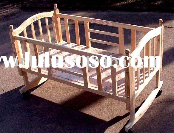 Rocking Wooden Baby Crib Cotmany Size Amp Colour For Choice