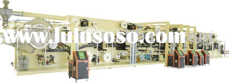 YC-YNK500-SV Full-servo High-speed Baby Diaper Production Line