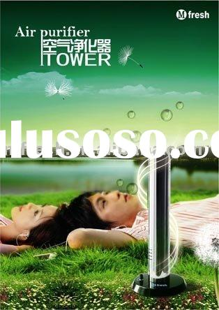 YL-tower Stainless steel household ionic Air freshener/ filter