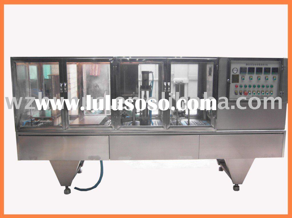 Yogurt cup filling sealing machine