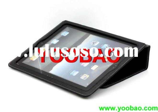 Yoobao Executive Leather Case Fit For Apple iPad2 Black 100% All Cow Leather(Black)