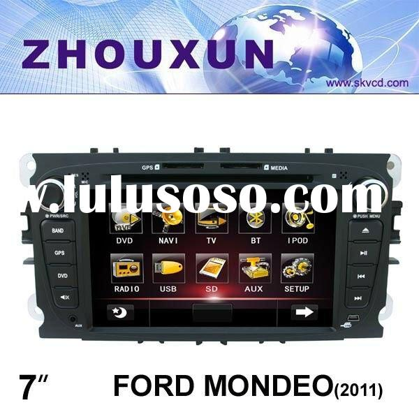 "(FORD MONDEO(2011)) 7"" HD digital TFT car DVD GPS player, with TV, radio, bluetooth"