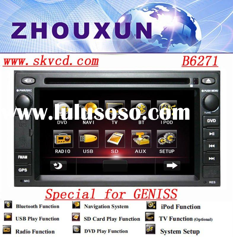 (NISSAN-GENISS) 6.2 inch two din Car DVD Player with GPS,bluetooth