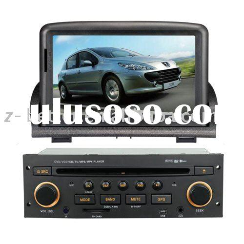 (New arrival ) double din car dvd gps Peugeot 307 with touchscreen and navigation system