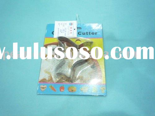 animal bird silicone edge/stainless steel/plastic cookie cutter/shape cookie cutter
