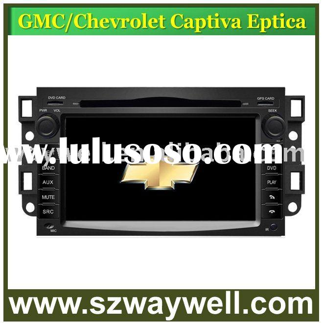 auto car multimedia system for Chevrolet Captiva with steering wheel control