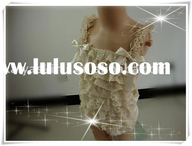 baby lace ruffle top