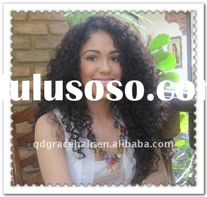 beautiful hot sale loos curly lace wigs