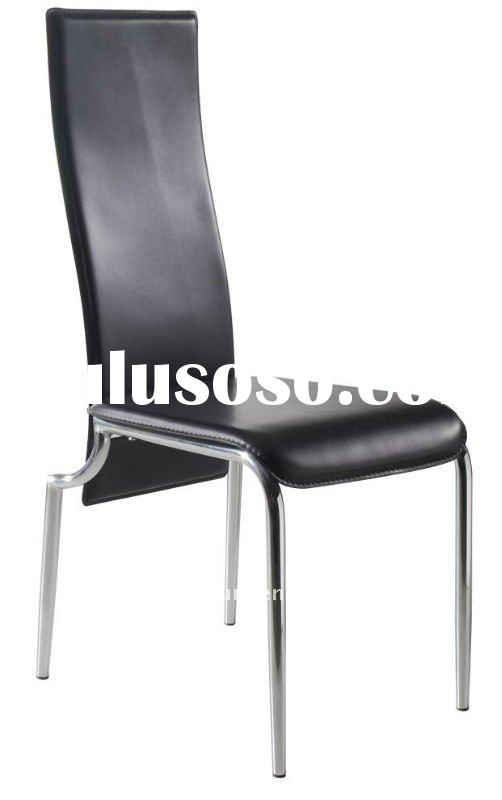 bent board PU leather high back dining room chair XL-H8111