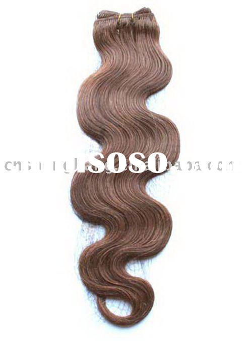body wave hair extension coffee color sample offered