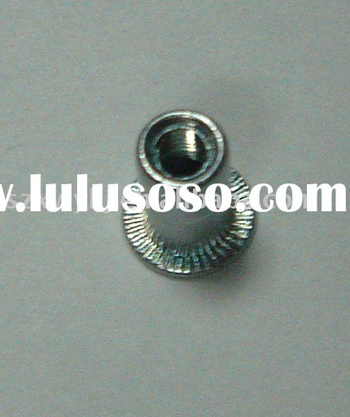 carbon steel, stainless steel, aluminum insert nuts