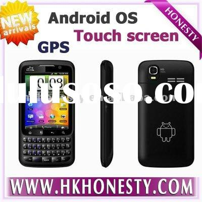 cheap Qwerty keyboard Android 2.2 os Mobile cell phone smartphone with touch screen F606