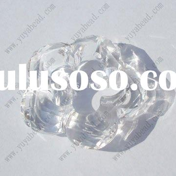 cheap double cone beads, discount acrylic beads, wholesale bicone faceted beads