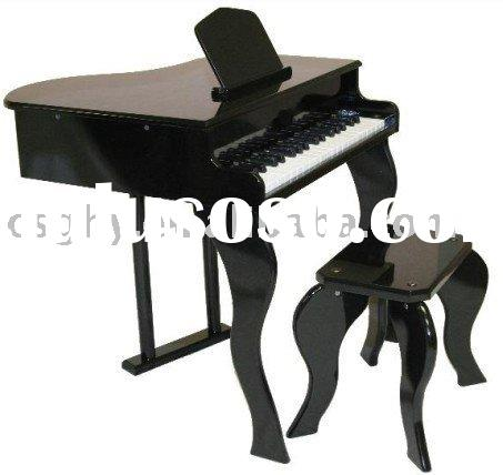 children wooden piano bench or music stand