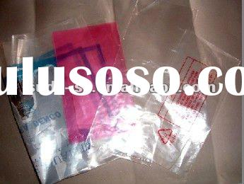 clear Nylon vacuum plastic packaging bag with printing