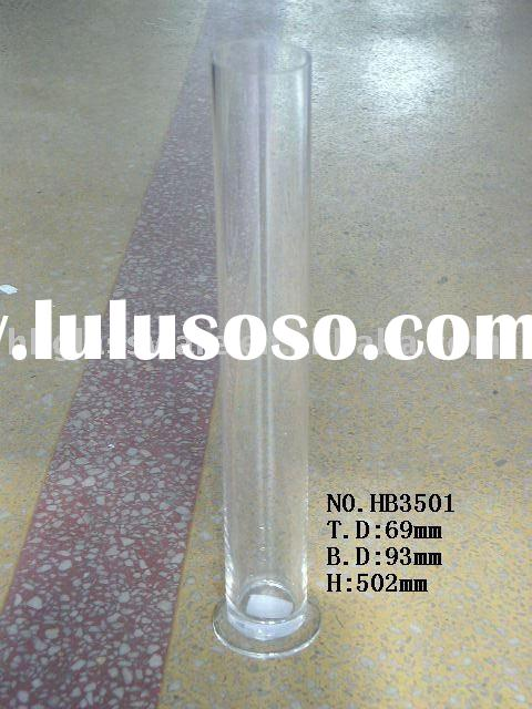 clear high quality glass vase
