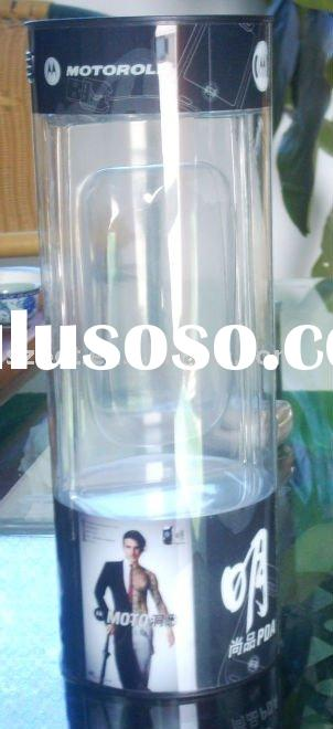 clear plastic tube packaging ,for general use,tailor made in any design