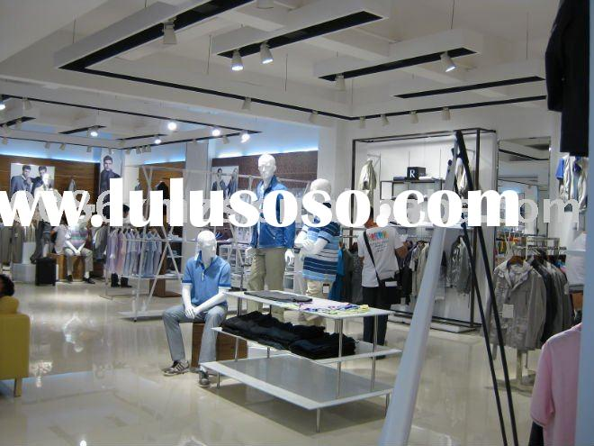 clothes store display design