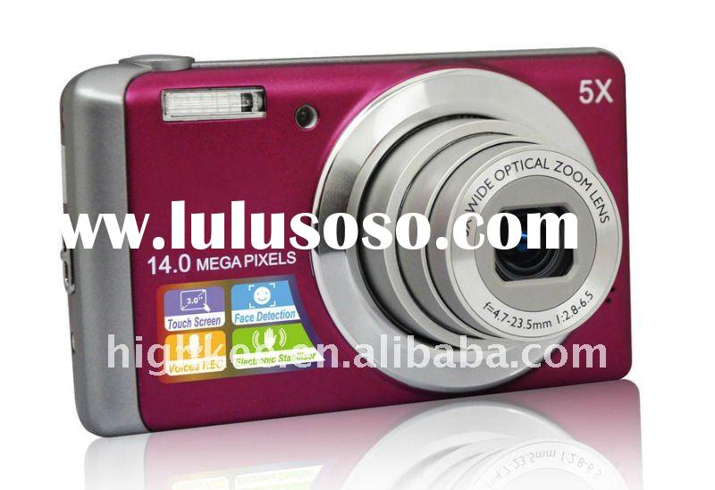 compact digital camera, 3 inch touch screen, cheap and fashion, nice gift camera
