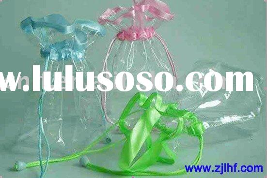 cosmetic clear pvc bag