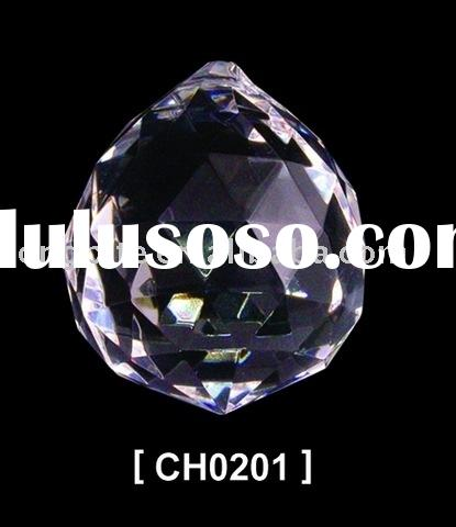 crystal light parts,table lamp part,crystal light part ball