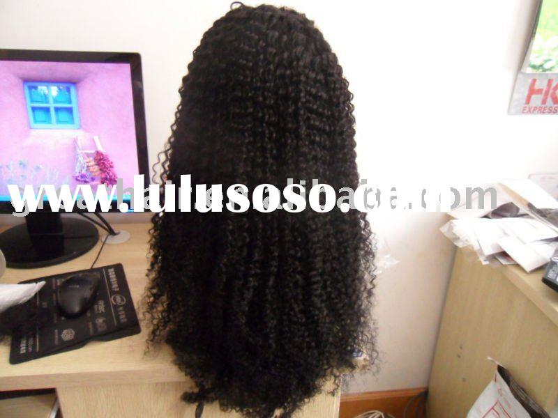 curl cheap high quality indian remy human hair full lace wigs