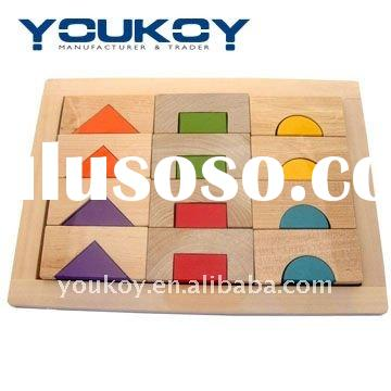 decrative wooden block puzzle