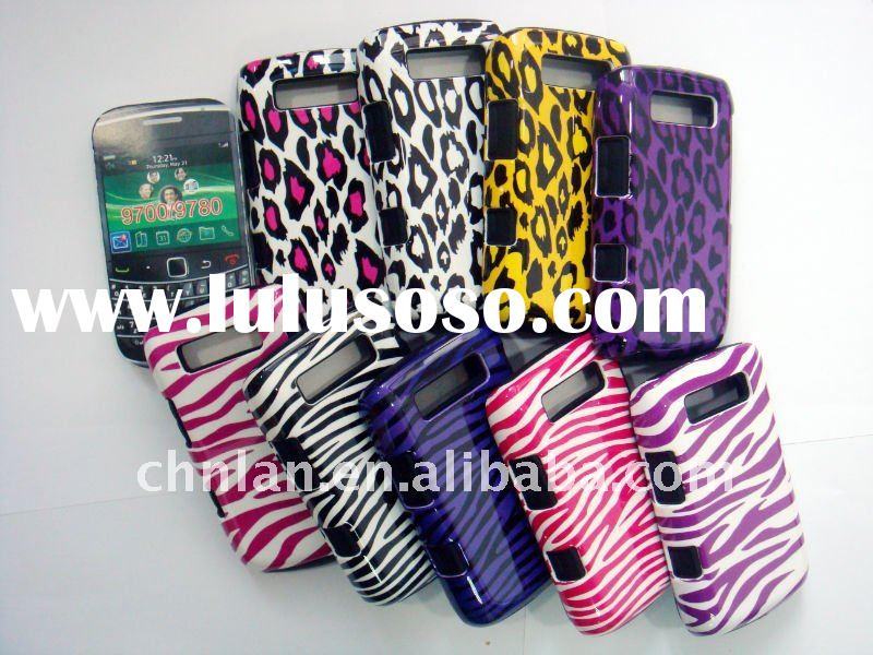 design case for blackberry, zabra and leopard design