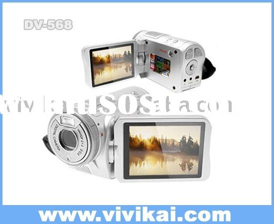 "digital video camera,video camera DV568 with 3""TFT LCD&Mp3 player&MPEG4&8X digital"