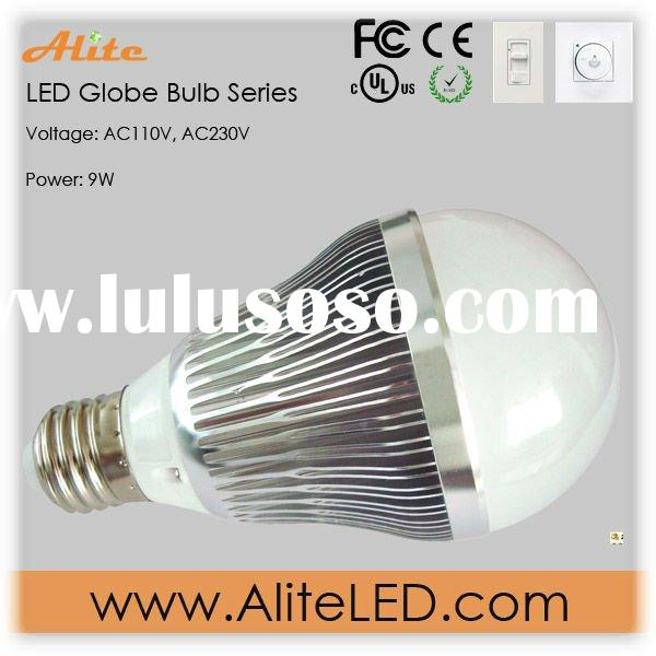 dimmable 230V G70 led lamb bulb E26/E27 9w