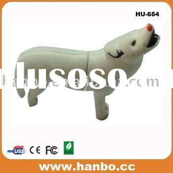 dog shape usb flash drive