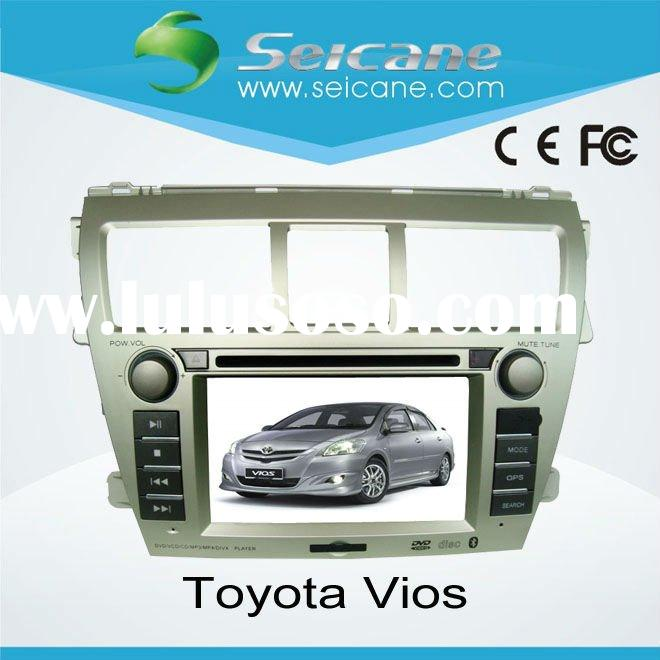 double din special car dvd player gps navigation for Toyota Vios(new)