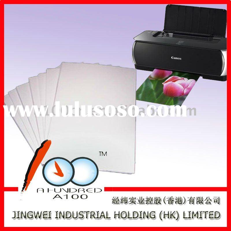 double-sided inkjet embossing white cardstock matte paper