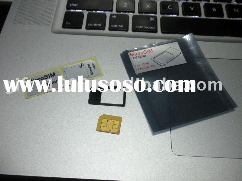 dual sim card adapter for Ipad and Iphone4