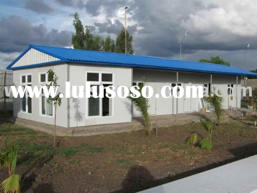 eco-safe modular/prefabricated house/light steel structure house