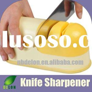 electric knife sharpener with two ceramic grinding stone