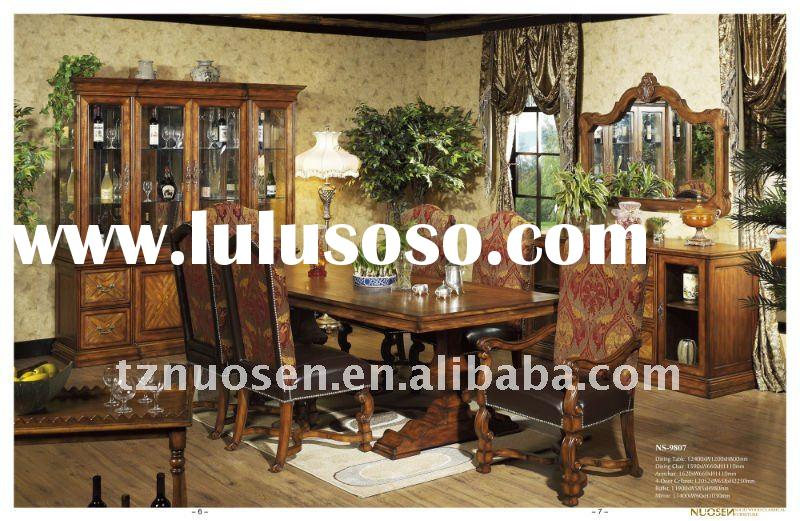 european antique dining room furniture NS-9807