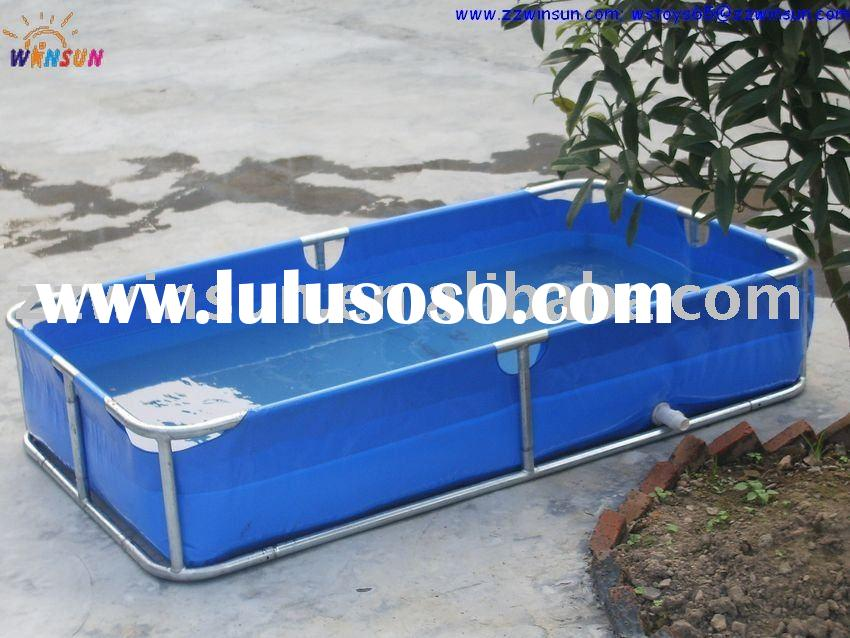 Rectangular frame swimming pool for sale price china manufacturer supplier 192963 - Steel frame pool ...