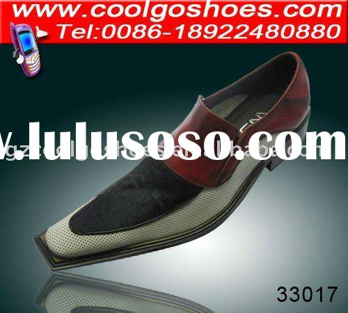 fashion design Men dress leather sole shoes