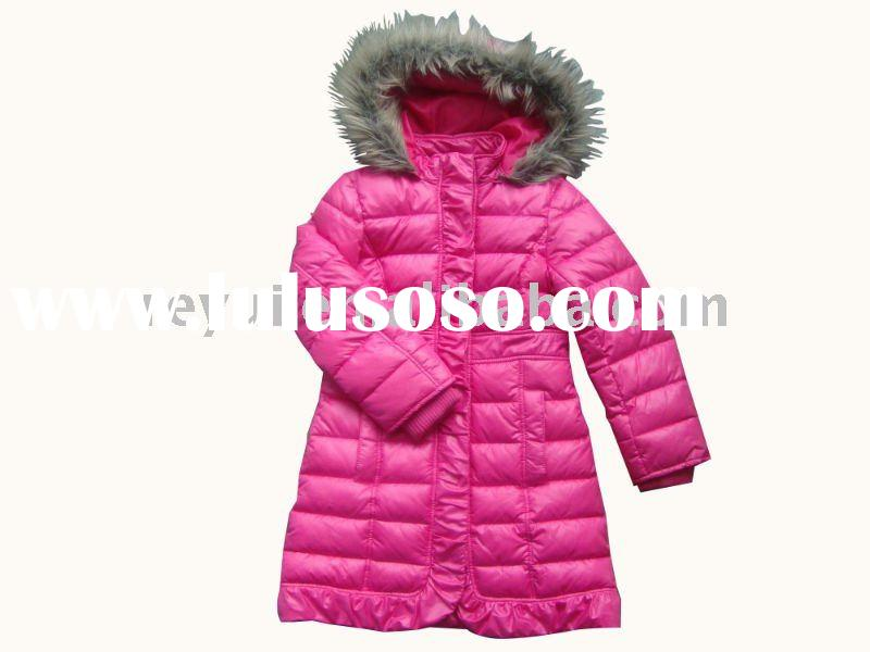 fashion girl winter dress coat
