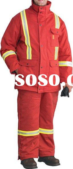fire resistant thermal safety coverall