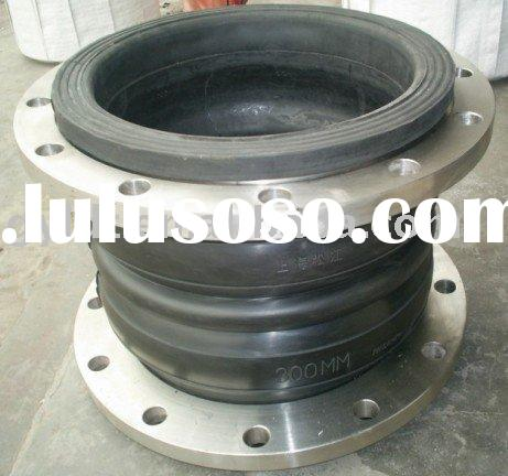 flexible double ball type rubber expansion joints