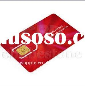 for IPHONE 4S 4G Universal itunes Activation SIM Card